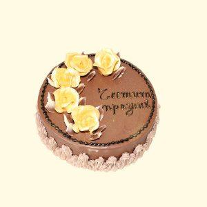 Торта Пет златни рози