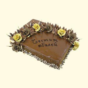 Торта Златни рози