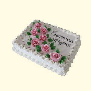 Торта Бяло изкушение