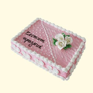 Торта Розово изкушение