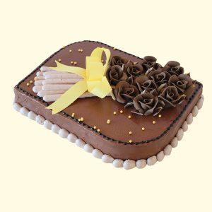 Торта Шоколадови рози