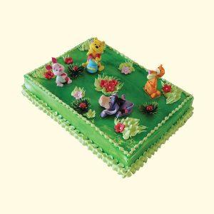 Торта Мечо Пух и компания