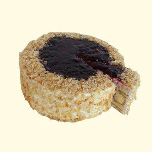 Торта Еклерова боровинка