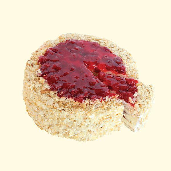 Торта Еклерова вишна