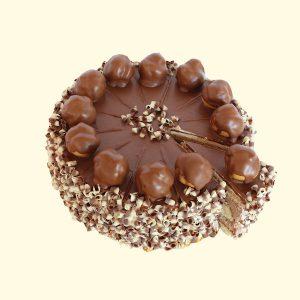 Торта Еклерова с шоколад